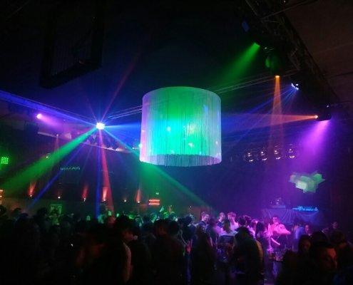 LJ Arne Winter in Köln bei einer Disco Veranstaltung