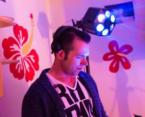 DJ Arne Winter auf verschiedenen Events und Partys