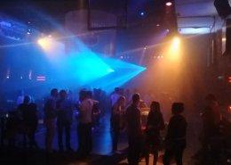 Party mit Zusatzlicht